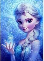 5D BRICOLAGE Diamant Peinture Disney la reine des Neiges Princesse Fille Kit de Point De Croix Broderie Mosaique Image de Strass Decor A La Maison Cadeau