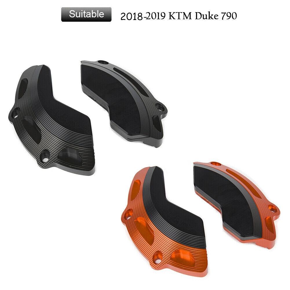 De la motocicleta CNC aluminio motor guardia marco regulador del estator del caso Protector de la cubierta de la izquierda y derecha para 2018 KTM 2019 Duque 790