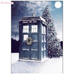 "New Square stones 5D DIY Diamond Painting ""Doctor Who"" Diamond Mosaic Cross Stitch Home Decor Diamond Embroidery Full round kits"