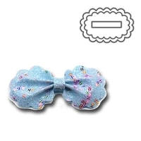 flowery side bowknot decorative embossing papercard crafts die 2021 bow tie metal cutting dies new 2021