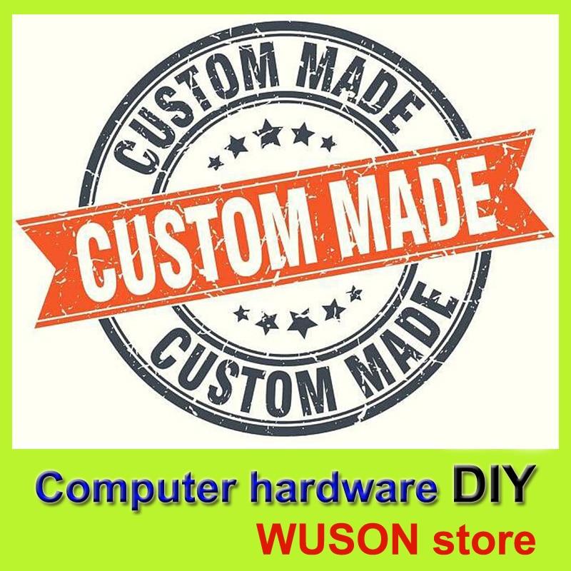 Компьютерное оборудование DIY материнская плата/cpu/ram/GPU/HDD/SSD/PSU/PC чехол пряди на заказ WUSON store-компьютер DIY one stop сервис