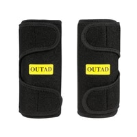 sport arm outad premium flexible arm trimmers latex free neoprene superior heat insulation soft touching black 2pcs