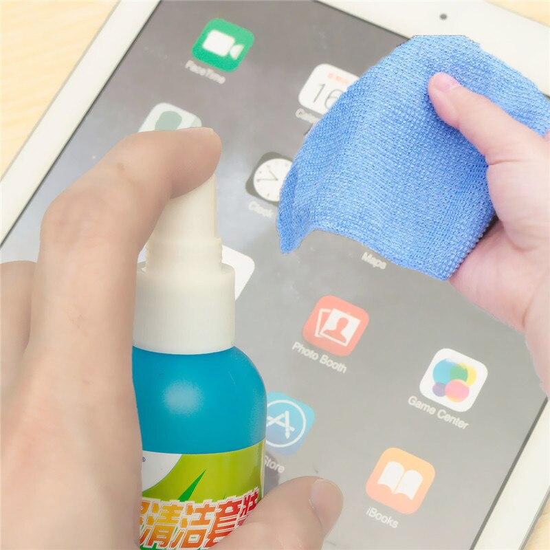 Пылеочиститель для экрана компьютера, чистящая линза, ручка, щетка, салфетки, воздуходувка, комплект для ЖК ТВ, планшета, телефона, iPad, экрана...