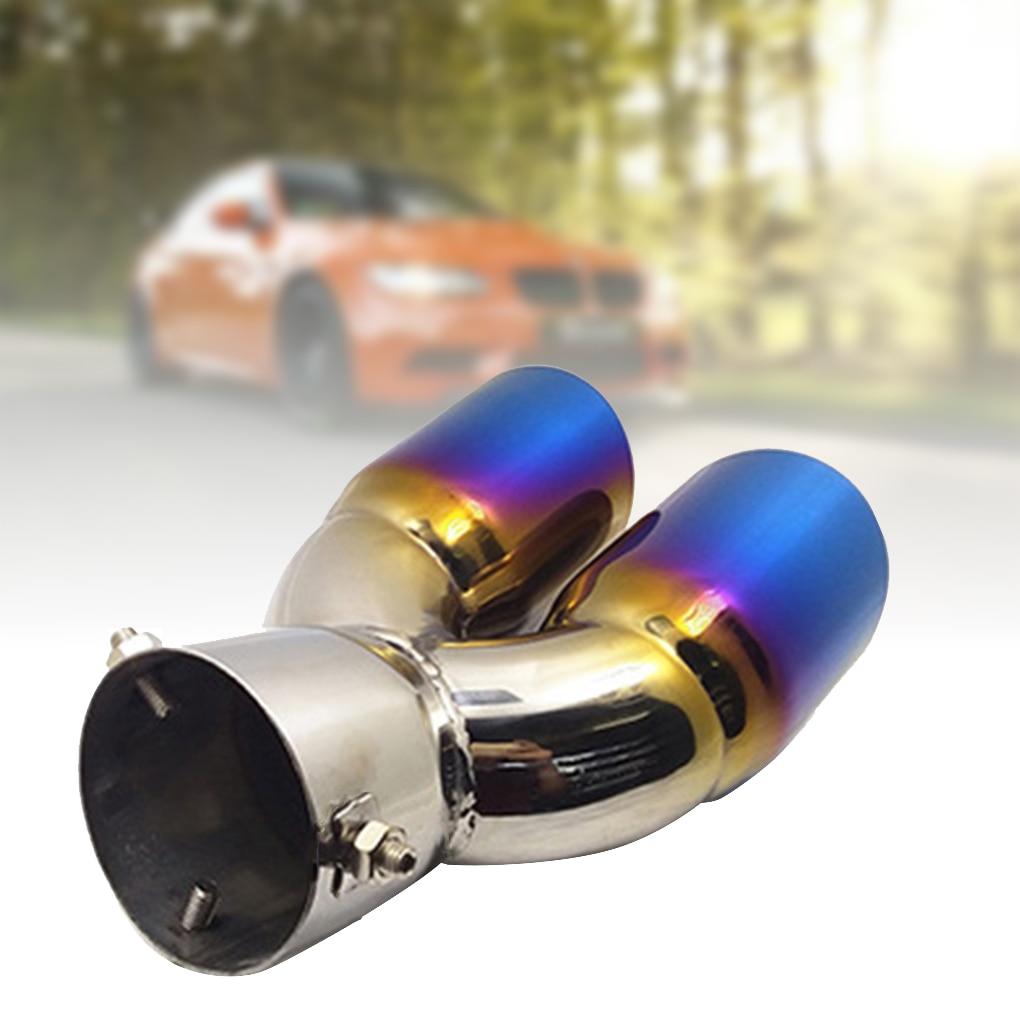 Tubo de escape de acero inoxidable para el tubo de escape, repuesto de cubierta de tubo de escape para CRV IX35 25