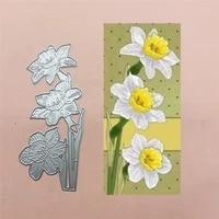 yellow flower metal cut dies stencils for scrapbooking stampphoto album decorative embossing diy paper cards