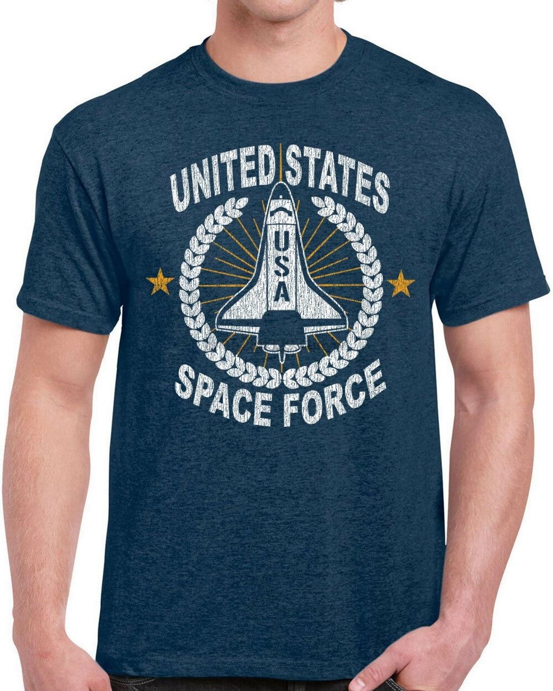 Camiseta de la fuerza espacial de los Estados Unidos para hombre de...