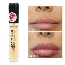 Volumizador de labios instantáneo, reparador de labios hidratante, Reduce las líneas finas de los labios, ilumina el Color de los labios, aceite de Plumper