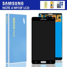 TFT 5.7 LCD remplacement pour SAMSUNG Galaxy Note 4 Note4 N910 N910C N910A N910F N910H LCD écran tactile numériseur