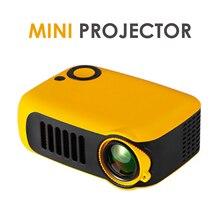 320*240P Mini projecteur Portable prend en charge 1080P LCD 50000 heures lampe vie Home cinéma vidéo projecteur pour batterie externe TV Box