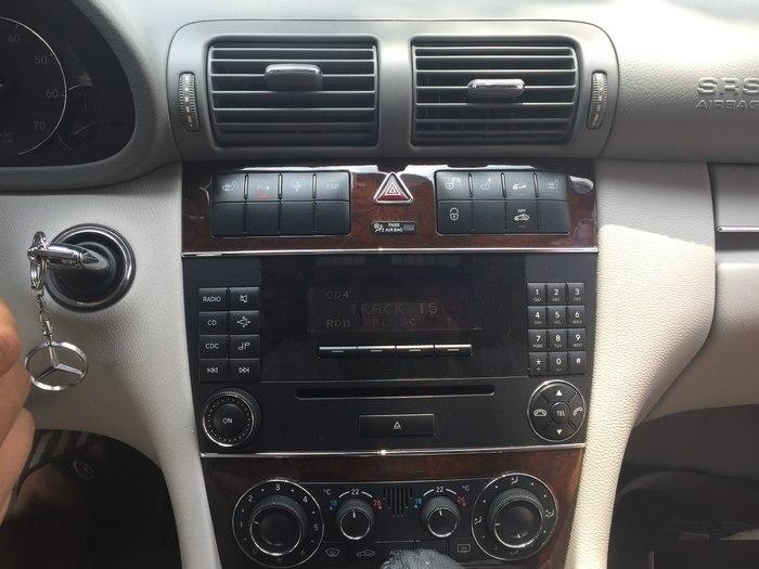 Android 10 coche reproductor Multimedia Autoradio GPS para Mercedes Benz Clase C en W203/CIC W203/CLK W209 Radio navegador estéreo BT
