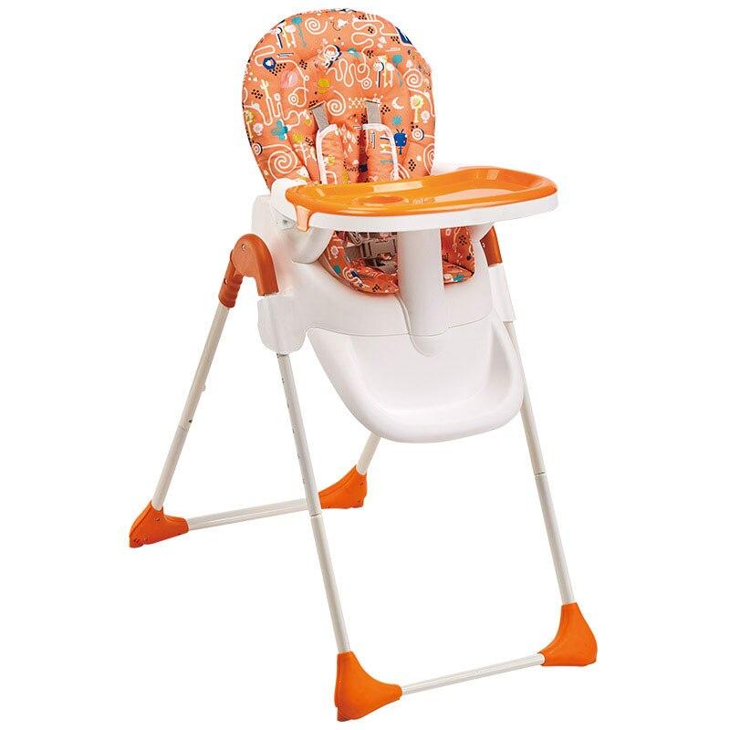 Bebé de alta alimentación Silla de comedor multifunción mesa de comedor plegable portátil ajustable Anti-dúmping doble protección mamá seguro
