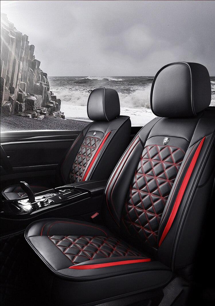 Cubierta universal de asiento de coche para el coche led opel astra g h j insignia corsa d asiento ibiza leon tesla modelo accesorios automóvil estilo