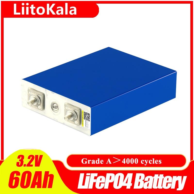 LiitoKala 3,2 v 60ah Lifepo4 las células de 5C 300A la corriente...
