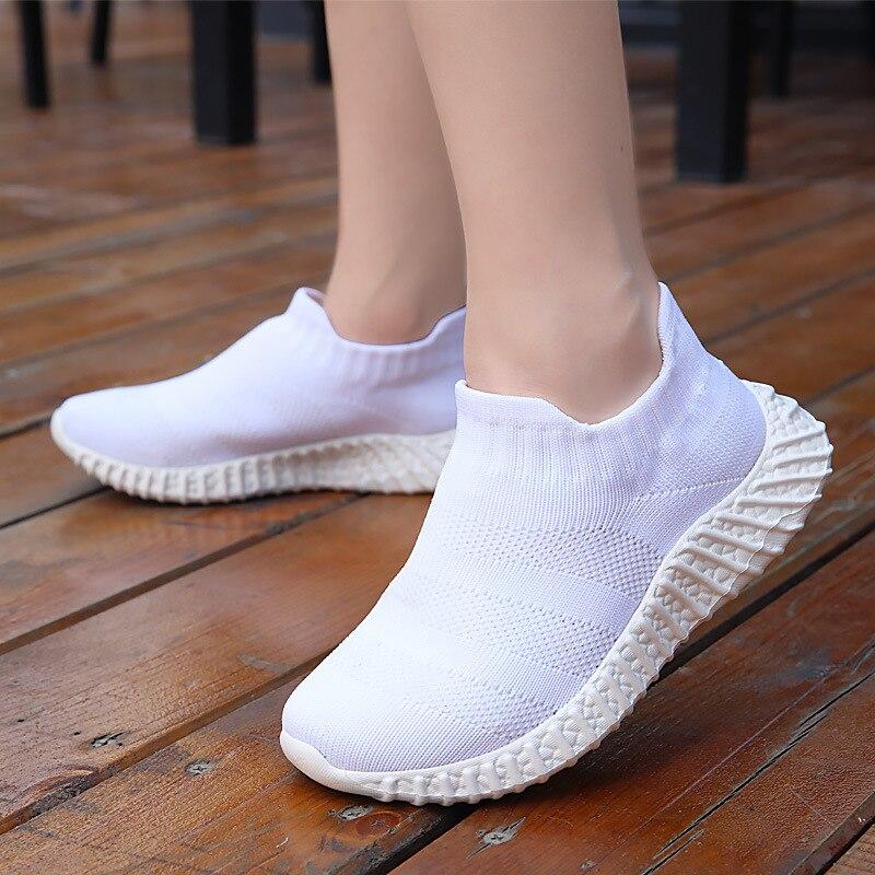 أحذية رياضية للأطفال مُحاكة مُحاكة أحذية رياضية أحذية طلاب المدارس أحذية أطفال للجنسين للأولاد والبنات سهلة الارتداء
