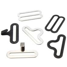 50 ensembles de matériel de nœud papillon ensembles cravate Ho nœud papillon ou cravate Clips attaches pour faire des bretelles réglables sur les nœuds papillon/cravates