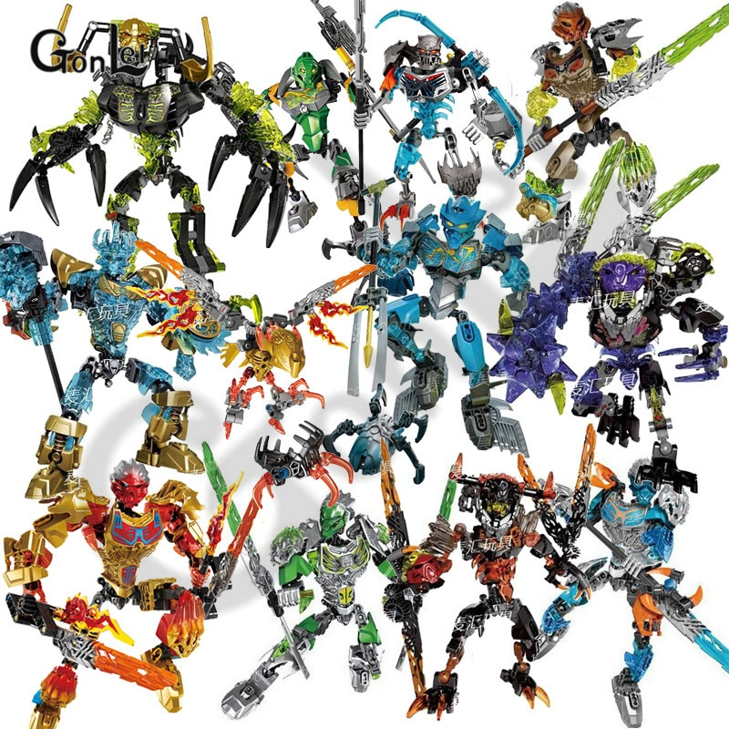 NEW Bionicle Mask of Light Bionicle Lewa Jungle Keeper of the Grove Building Block Compatible with Bionicle Model Toys