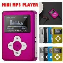 Новинка Портативный USB мини MP3-плеер с ЖК-экраном Поддержка 32 ГБ Micro SD TF карта 2020 модный мини спортивный MP3-плеер Музыкальный плеер