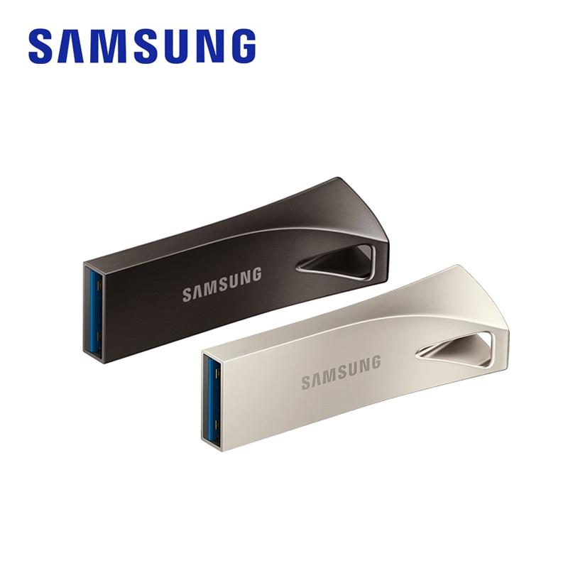 SAMSUNG BAR Plus USB Flash Drive usb 3.1 32GB 64GB 128GB 256GB Pen Drives 4K Metal Pen Drive Memory Stick Storage Device for PC