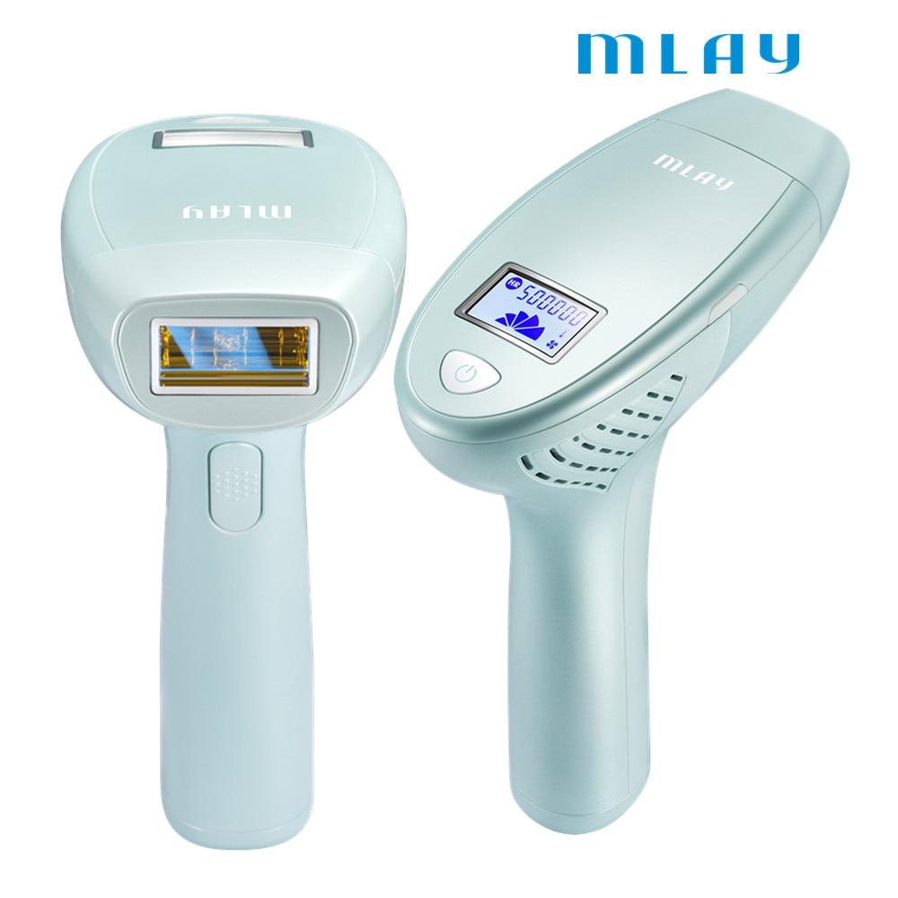 MLAY hair removal machine 500000 flash professional permanent IPL epilator laser hair removal FDA certification enlarge