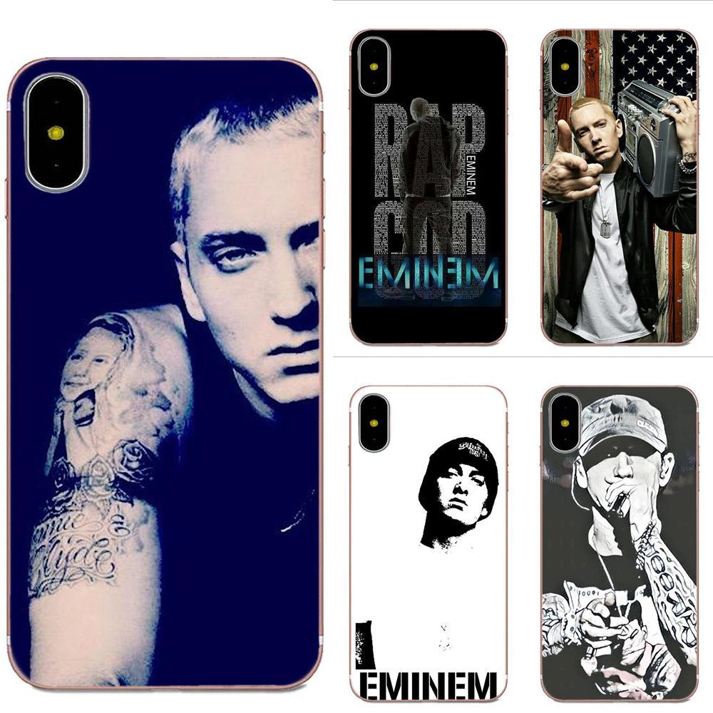 Hip Hop Rapper Eminem Rap For Sony Xperia Z Z1 Z2 Z3 Z4 Z5 compact Mini M2 M4 M5 T3 E3 E5 XA XA1 XZ Premium Diy Phone Case