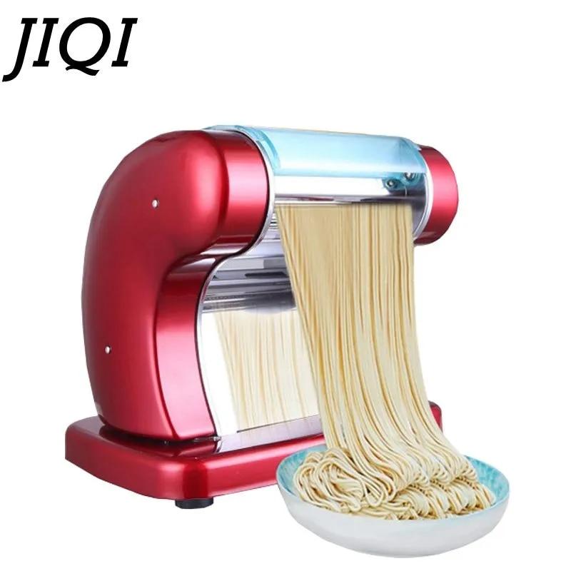 JIQI חשמלי אטריות פסטה מכונה DIY בית ירקות אטריות יצרנית כופתאות רביולי קליפה יצרנית 220V