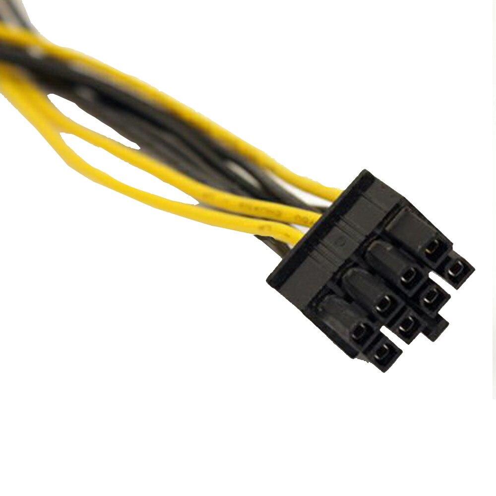 Cable convertidor Molex LP4 Dual de 4 pines a 8 pines PCI-E Express, cable adaptador de vídeo para coche AMD y nVidia, cable de alimentación #10