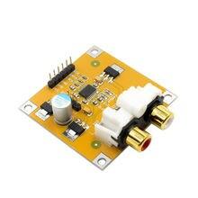 Decodificador RISE-Pcm5102 Dac reproductor I2S Junta ensamblada 32Bit 384K más allá de Es9023 Pcm1794 para Raspberry Pi