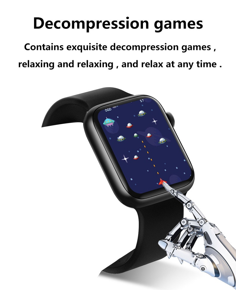"H6010a9ebca694b27b01b8b2815264047o 2021 IWO 13 MAX Smart Watch T500+ plus 1.75""HD Bluetooth Calls Custom Wallpaper Heart Rate Monitor Sport Smartwatch PK W46 W26"