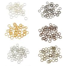 3-20mm Single Open Jump Rings Split Rings Connectors For Diy Jewelry Making Handmade Necklace Bracel