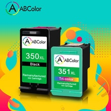 خرطوشة حبر ABColor 350XL 351XL معاد تصنيعها متوافقة مع طابعة HP 350xl 351xl للطابعة HP Deskjet D4260 D4280 D4360