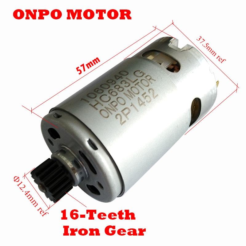 ONPO-مثقاب كهربائي ASL186 ، 20 فولت ، 16 سن ، تيار مستمر ، لـ Black & Decker