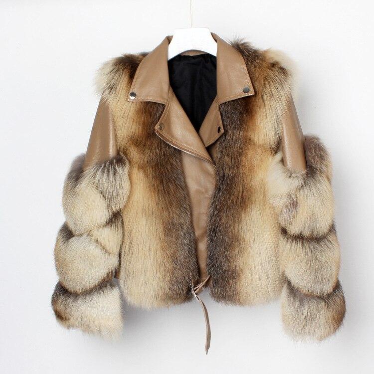 Женское зимнее пальто, женская куртка из овечьей кожи, оптом, меховая куртка, меховая история FS20140, Меховая куртка