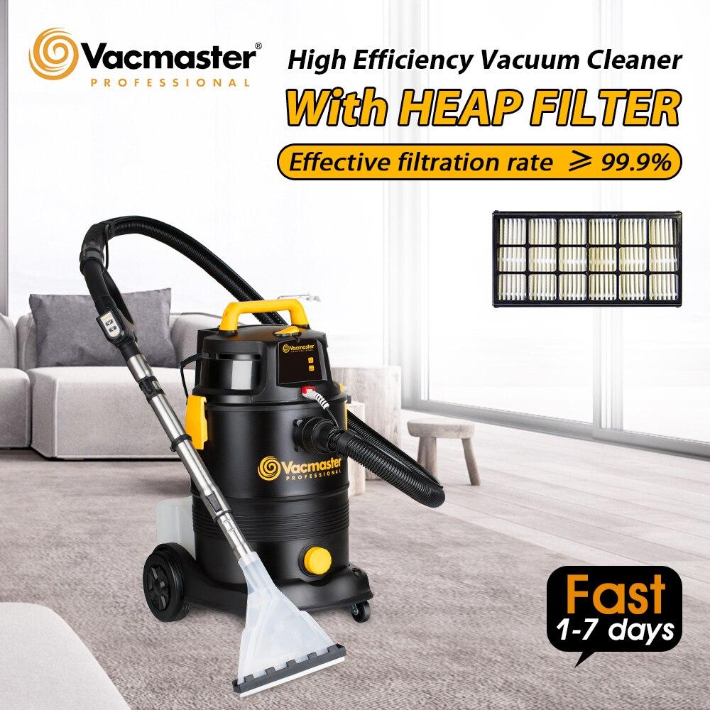 Aspiradora 2 en 1 de Vacmaster, aspiradora doméstica para Hotel, limpiador de alfombras, champú, lavado, aspiradoras húmedas secas para colector de polvo para automóvil, tanque de 30 l
