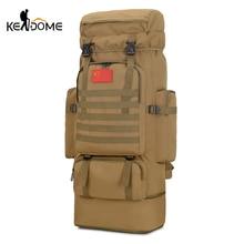 85L militaire tactique Camping sac à dos randonnée escalade sac à dos utilitaire Nylon sac Sport armée Molle sac voyage XA25D