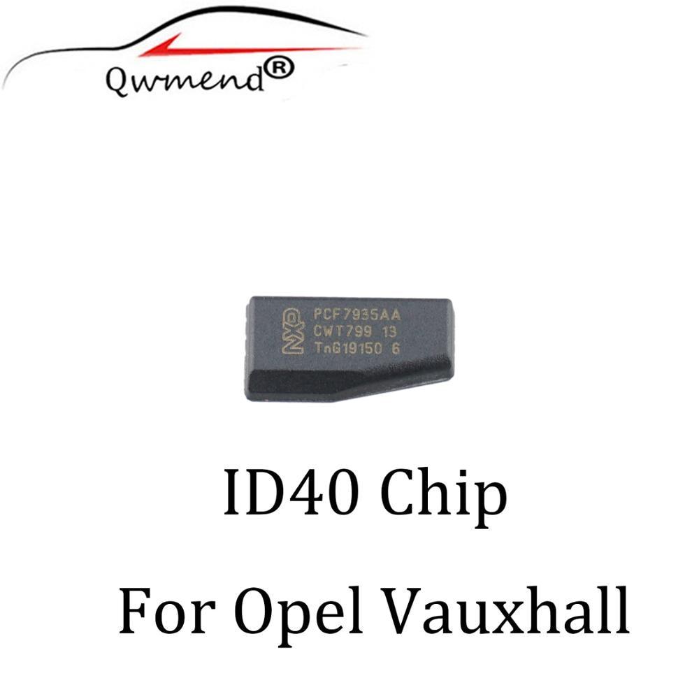 QWMEND 1 шт. * ID40 транспондер чип для Vauxhall Opel Astra Vectra Zafira