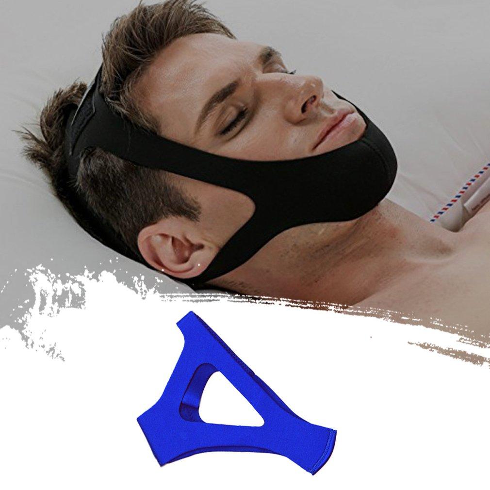 Anti Snore Stop Snoring Chin Strap Belt Anti Apnea Jaw Solution Sleep Support Apnea Belt Sleeping Ca