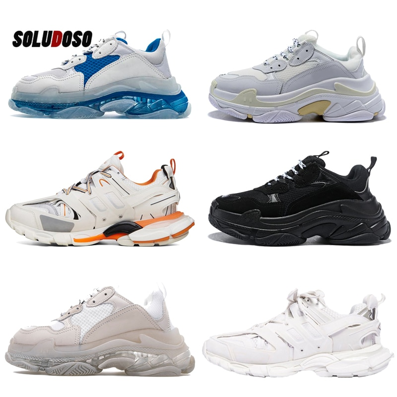 2021 Paris Fashion Brand Designer Shoes Increase Running Shoes Male Father Shoes Female Leisure Spor