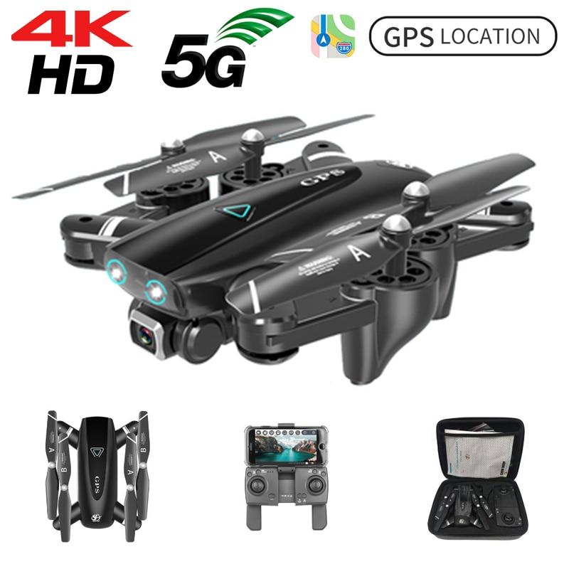 S167 GPS Drone HD 4k Cámara Drones 5G GPS WiFi FPV 1080 RC helicóptero vuelo 20 minutos Quadcopter plegable Drone con cámara