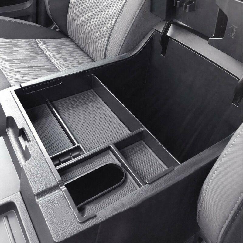 Caixa de armazenamento do console do centro do apoio de braço para toyota tundra 2014-2019 a3 carro inovador