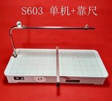 220V/110V 80W S603-2 Desktop Schuim Snijmachine Hoge Kwaliteit Schuim Slicer Hete Draad Schuim Snijder schuim Snijmachine Tafel Tool