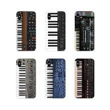 Clavier Synthétiseur de Musique Accessoires de Téléphone étui pour samsung Galaxy J1 J2 J3 J4 J5 J6 J7 J8 Plus 2018 Premier 2015 2016 2017