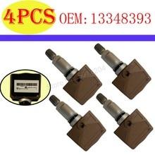 4 PCS 13348393 TPMS Sensor For Opel Zafira C Astra Insignia Tire Pressure Sensor For Opel Ampera C h