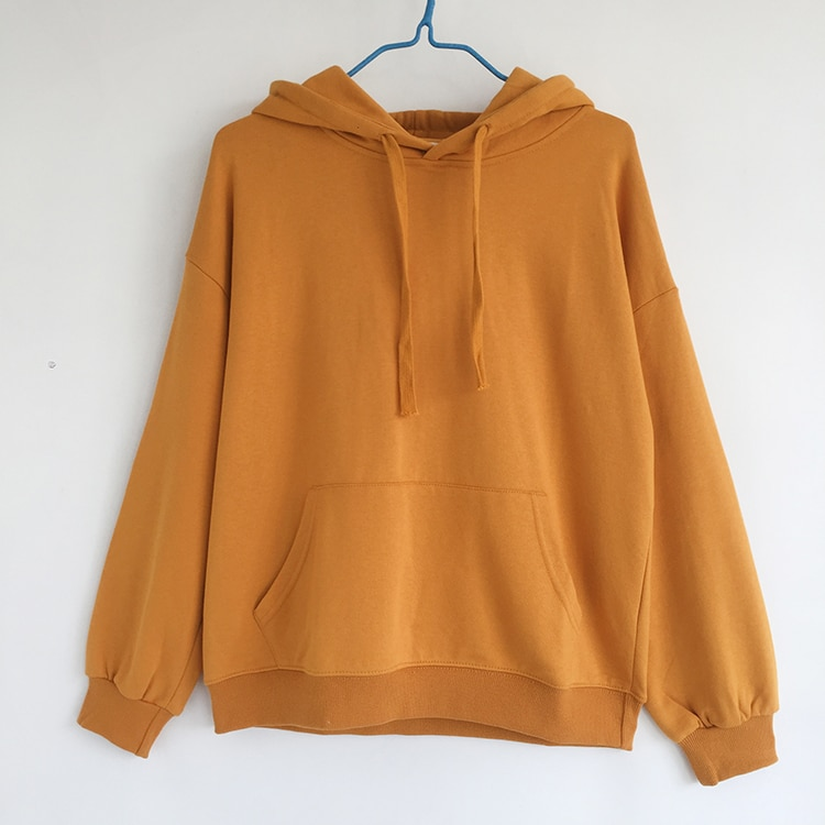 Casual Style Female Sporty Hoodie Loose Full Sleeve Hooded Jersey Sashes Wide Waisted Sweatshirt For Women  - buy with discount
