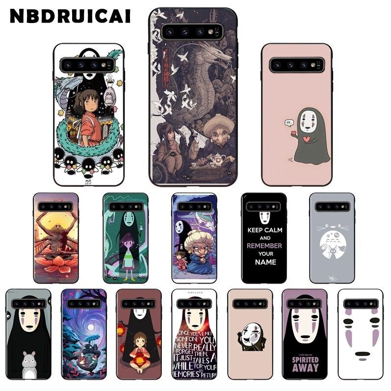 Bonita funda de teléfono ghideli Miyazaki Anime TPU para Samsung S9 plus S5 S6 edge plus S7 edge S8 plus S10 E S10 plus