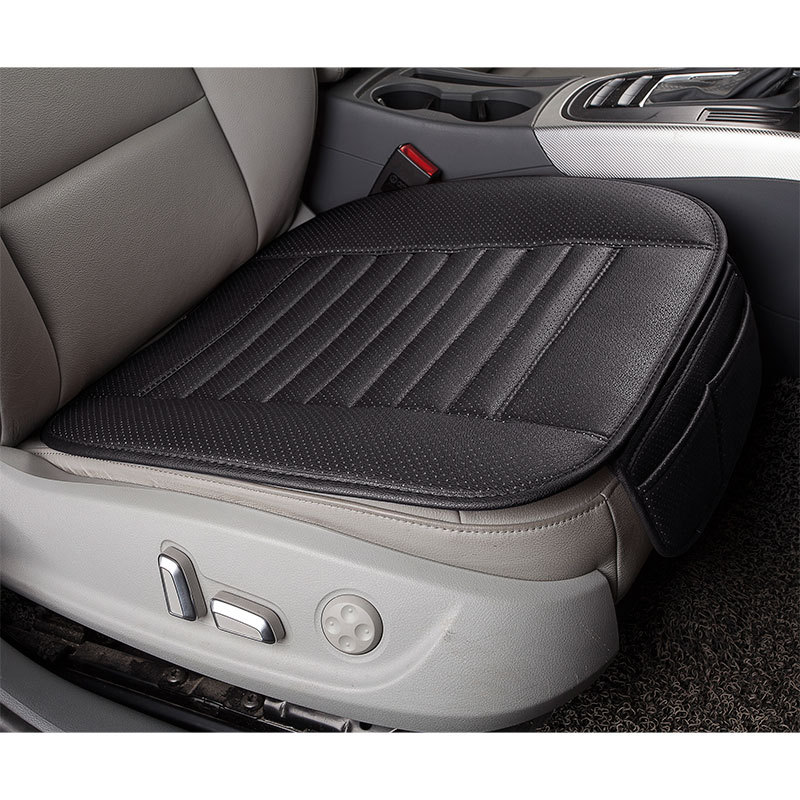 Чехол для автомобильного сиденья из искусственной кожи, Всесезонная подушка для автомобильного сиденья, аксессуары для автомобиля