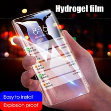 9D Hydrogel Film für Xiao mi mi 9 8 SE A3 9X 6X Pre mi um Screen Protector Für Xiao mi Pocophone F1 CC9E Spielen mi x3 mi 6 8 9 8Lite