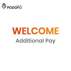 Podofo Shipping fee extra fee