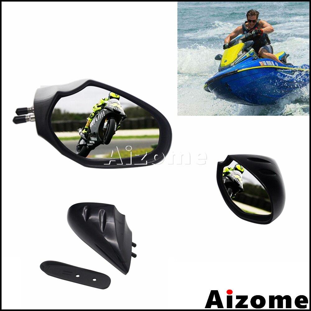 Motorboat espelho retrovisor para yamaha waverunner cruiser luxo esporte acessórios da motocicleta F2N-U596B-00-00/rh F2N-U596C-00-00