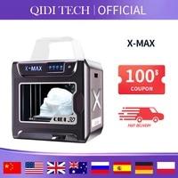 qidi tech 3d printer x max large size industrial wifi high precision printing with pla tpu pc petg nylon 300250300mm