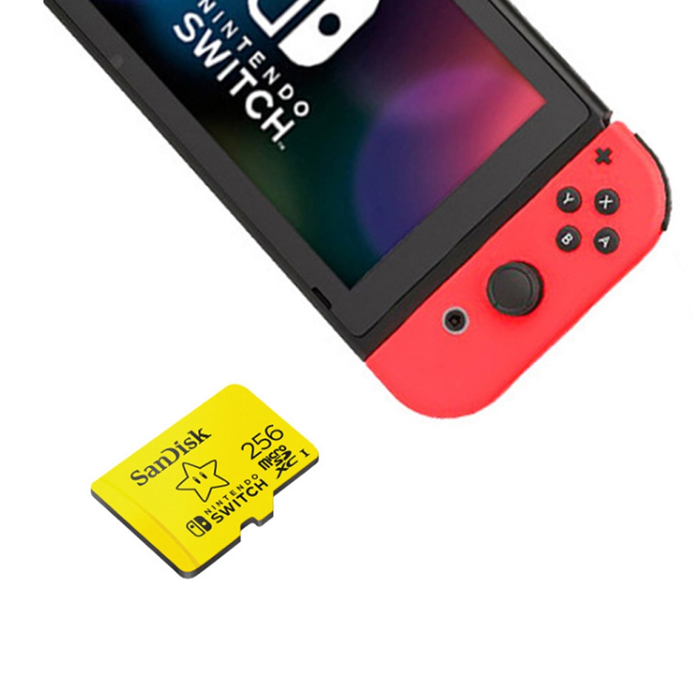 SanDisk Nintendo Switch Dedicated Micro SD Card 128GB 32GB 64GB Micro SD Memory Card SD/TF Flash MicroSD Card for Monitor Video enlarge